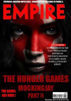 Ma tentative de couverture du magazine Empire
