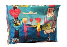 Jolly Rancher Valentines Day Heart Shaped Lollipops 4 Flavors 25 Count #ValentinesDay