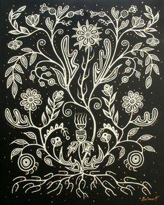 Christi Belcourt Black & White (2)