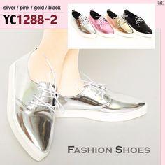 Promo Sale Sepatu Fashion Shoes Flat YC1288-2 Black 35 29d5e706e7