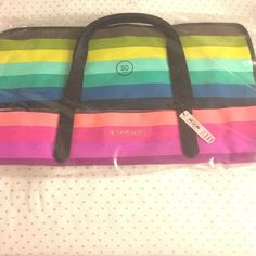 VS beach tote If I'm not mistaken there is another separate smaller bag inside Victoria's Secret Bags Totes