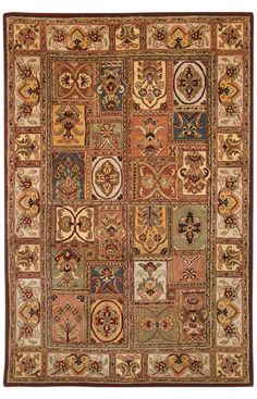 Safavieh Classic CL386A Multi Rug | Traditional Rugs #RugsUSA