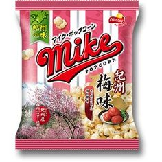 FritoLay Mike Pop Corn -- Ume Flavor