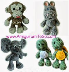 Video Tutorials Amigurumi Zoo Animals