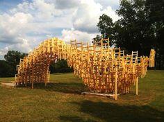 400 Chair SEAT Art Installation In Atlanta (12)