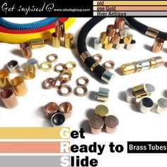 Brass Tubes in several dimensions and platings. Get Ready to Slide....them all @ www.nikolisgroup.com