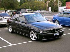 BMW E39 M5 black euro style
