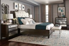 Sutton House Bedroom | Bernhardt