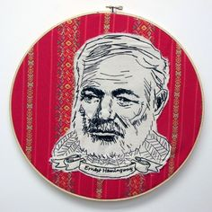 Ernest Hemingway: {Lucky Jackson's series of amazing authors.}