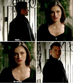 "#TheOriginals 3x18 ""The Devil Comes Here and Sighs"" - Hayley and Elijah"