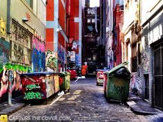 Little La Trobe St #CaptureTheCover entry - by Jun in Melbourne's Inner City Northern Region. Click to enter your photos!