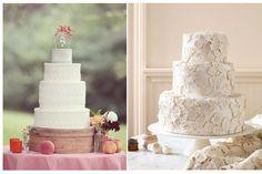{Wedding Trends} : Lace Cakes | bellethemagazine.com