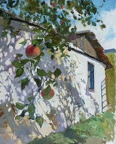 Raindrops and Roses — lilacsinthedooryard: Igor Shipilin (b. Landscape Art, Landscape Paintings, Raindrops And Roses, Beautiful Paintings, Oeuvre D'art, Home Art, Art Inspo, Painting & Drawing, Art Projects