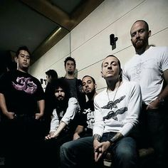 Here is a Linkin Park, photo I'v never seen before! You like it, pin it!