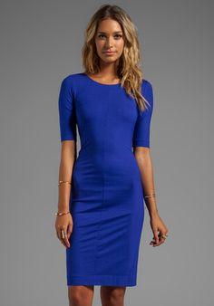 Raquel Dress in Blue - Lyst