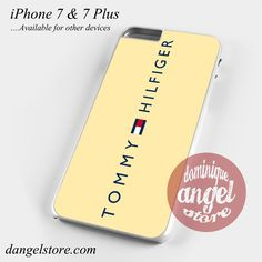 Tommy Hilfiger Cream Yg Phone Case for iPhone 7 and iPhone 7 Plus