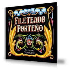 Fileteado Porteño, de Alfredo Genovese. Sign Writing, Vintage Signs, Flourish, Beautiful Images, Diys, Lettering, How To Plan, My Love, Drawings