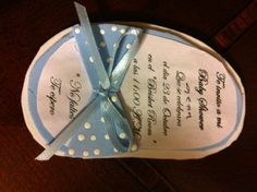 Más invitaciones de baby shower hechas a mano. ¡Fotos! | Blog de BabyCenter