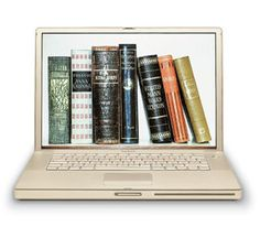 library_mistress  -  reading on the laptop   --  Flickr - Photo Sharing!