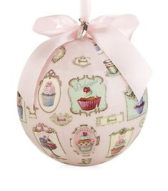 Love this! Divine Tearoom Christmas Bauble | Harrods