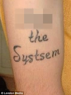 I've got you... blunder my skin! Hilarious photos of misspelled tattoos reveal why you should take a dictionary when you get body art