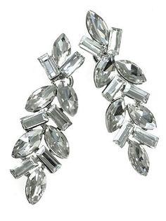 Elegant Crystal Silver Tone Dangle Drop Earrings Bridal Women Fashion Jewelry #DazzledByJewels #Drop #Dangle #DazzledByJewels #fashion #fashionista #fashionstyle #style #styleinspiration #trend #trendy #trending #trends  #jewelry #jewelryaddict #shopping #jewelryforsale #jewelryoftheday #jewelrybox #jewelrylovers #instyle  #trendsetter #glam #gift #giftsforher #women #teen #earrings #bridal #wedding
