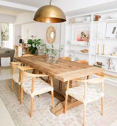 Dining Room Inspiration, Home Decor Inspiration, Decor Ideas, Cheap Home Decor, Diy Home Decor, Diy Decoration, Dining Room Design, Home Interior Design, Interior Design Living Room Warm