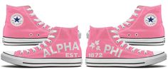 Alpha Phi Back-To-Backs – Tready Shoes  #converse #alphaphi #treadyshoes
