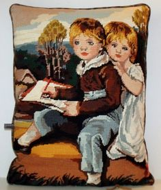 UNIQUE French Vintage Needlepoint Tapestry by Retrocollects, £40.00