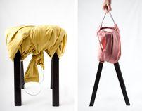 Stool Design: WIKL by Gerlinde Gruber, via Behance Smart Design, Modern Chairs, Contemporary Furniture, Bucket Bag, Behance, Stools, Vienna, Packaging Design, Gallery