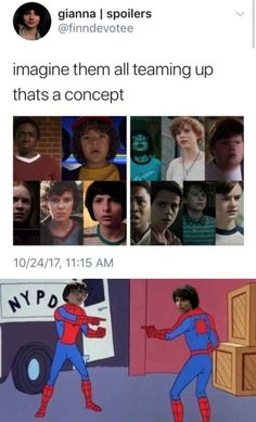 An IT and Stranger Things Crossover wouldn't work very well for Finn Wolfhard