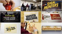 Sign Painters | documentary style, upbeat, typography titles