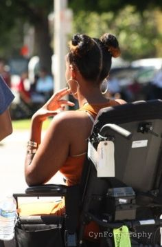 Disabled Girls can be sexy! Beauty and Fashion on PUSHLiving.com Image: Woman On Wheelchair