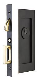 Bon Emtek Products, Inc. 2113 KEYED   Emtek Modern Solid Brass Mortise Pocket  Door