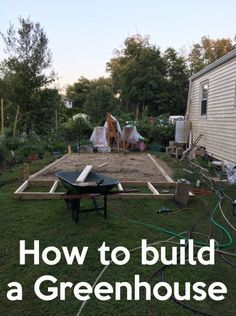 Greenhouse and Greenhouse ideas for all gardeners
