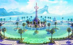 Seaside Paradise by Astral-Requin on DevianArt
