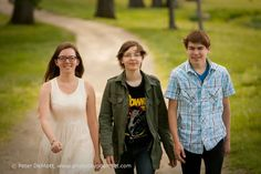 Triplet senior session.  http://www.photosbypdemott.com in Dayton, Ohio
