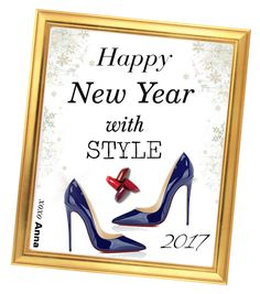 """Happy New Year!!"" by annna-136 ❤ liked on Polyvore featuring Christian Louboutin"