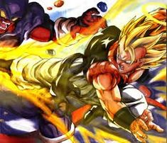 Gogeta Vs Janemba, Dragon Ball Z, Goku, Animated Gif, Bowser, Animation, Anime, Painting, Play