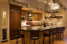 Kitchen White Spring Granite With Espresso Cabinets And Mini - Kitchen remodel okc