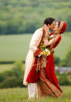 Indian wedding....ok I'm not indian, but CUTEST COUPLE PIC EVER!!!!!