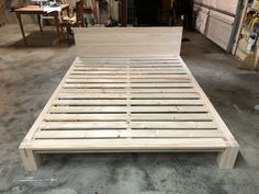 Tatami Inspired DIY Platform Queen Size Bed Plans | A Lesson Learned