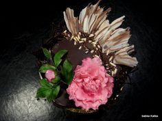 Čokoládová s pivonkou