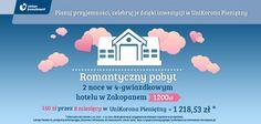 Romantyczny pobyt w hotelu w Zakopanem - 150 zł przez 8 miesięcy w UniKorona Pieniężny