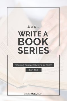 Learn about the three different types of series and decide which one is right for you.