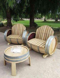 Barrels furniture
