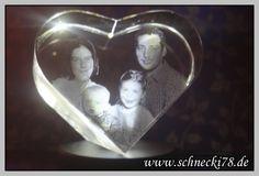 3D Glasherz als #Geschenk #Fotogeschenk #Weihnachten #personalisierte Fotogeschenk #Foto http://schnecki78.de/3d-glasherz-von-personello-de/