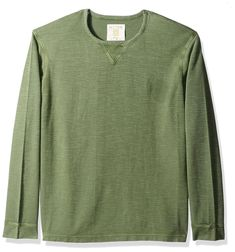 Ecoths Mens X-Large Shirt Long Sleeve Pull-Over Banning LS 100% Organic Cotton #Ecoths #Henley