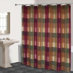 Blue Plaid Shower Curtain | Plaid shower curtain and Blue plaid | title | yellow and blue plaid shower curtain