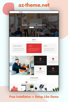 Nanto is a 100% responsive and parallax one page WordPress theme. It is clean and professional theme perfect for agencies and creative studios. With the Visual Composer, Slider Revolution plugin and a powerful Theme Options Panel, it can be customized easily to suit your wishes. 3+ Predefined Homepage Layouts. WPBakery Page Builder Included. Revolution Slider Included. Powerfull Theme Options Panel. One Click Demo Data Installation. Bootstrap components compatible. 15+ Shortcodes ....